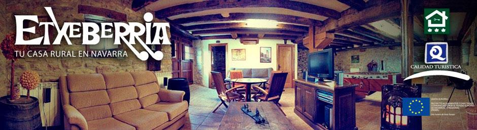 Casa Rural Etxeberria. Oskotz